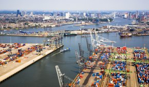 haven rotterdam export internet
